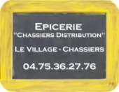 "Epicerie ""Chassiers Distribution"""